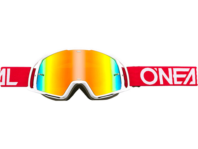 ONeal B-20 Goggles röd/vit